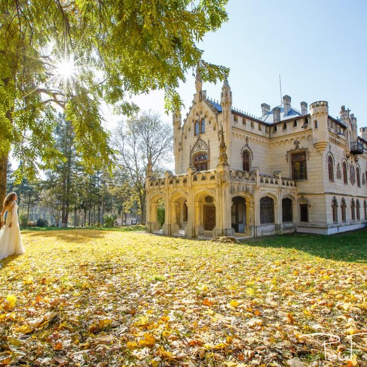 Sedinta foto dupa nunta la Castelul Sturdza - Miclauseni