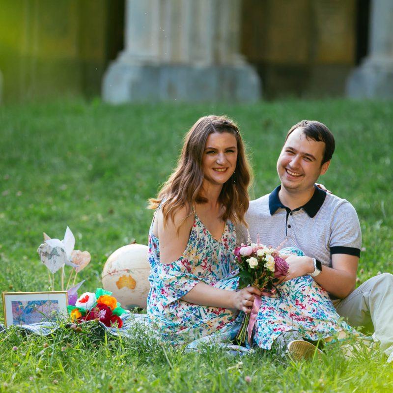 sedinta foto logodna micleuseni - fotografie cu zambet Paul Padurariu Fotograf Iasi