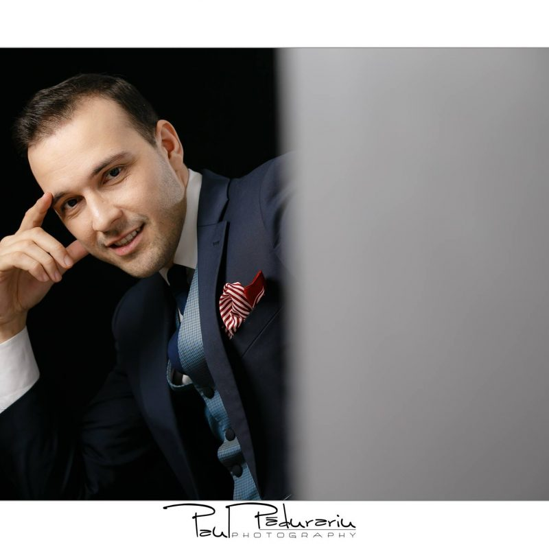 Sedinta foto corporate headshot paul padurariu studio foto Iasi