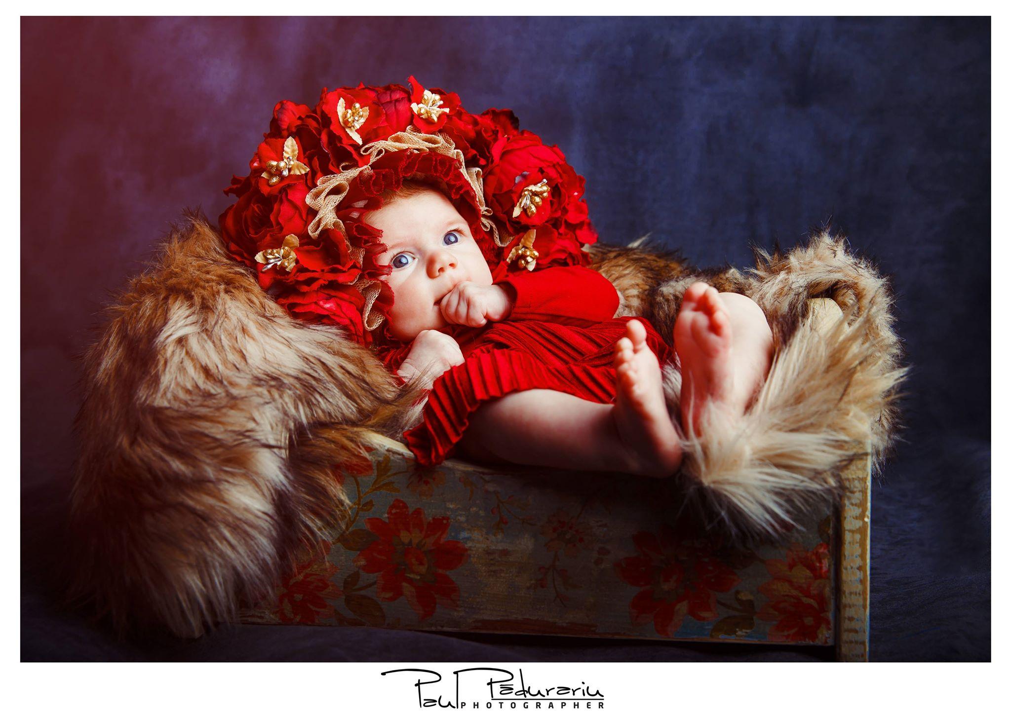 Sedinta foto nou nascut studio foto iasi paul padurariu