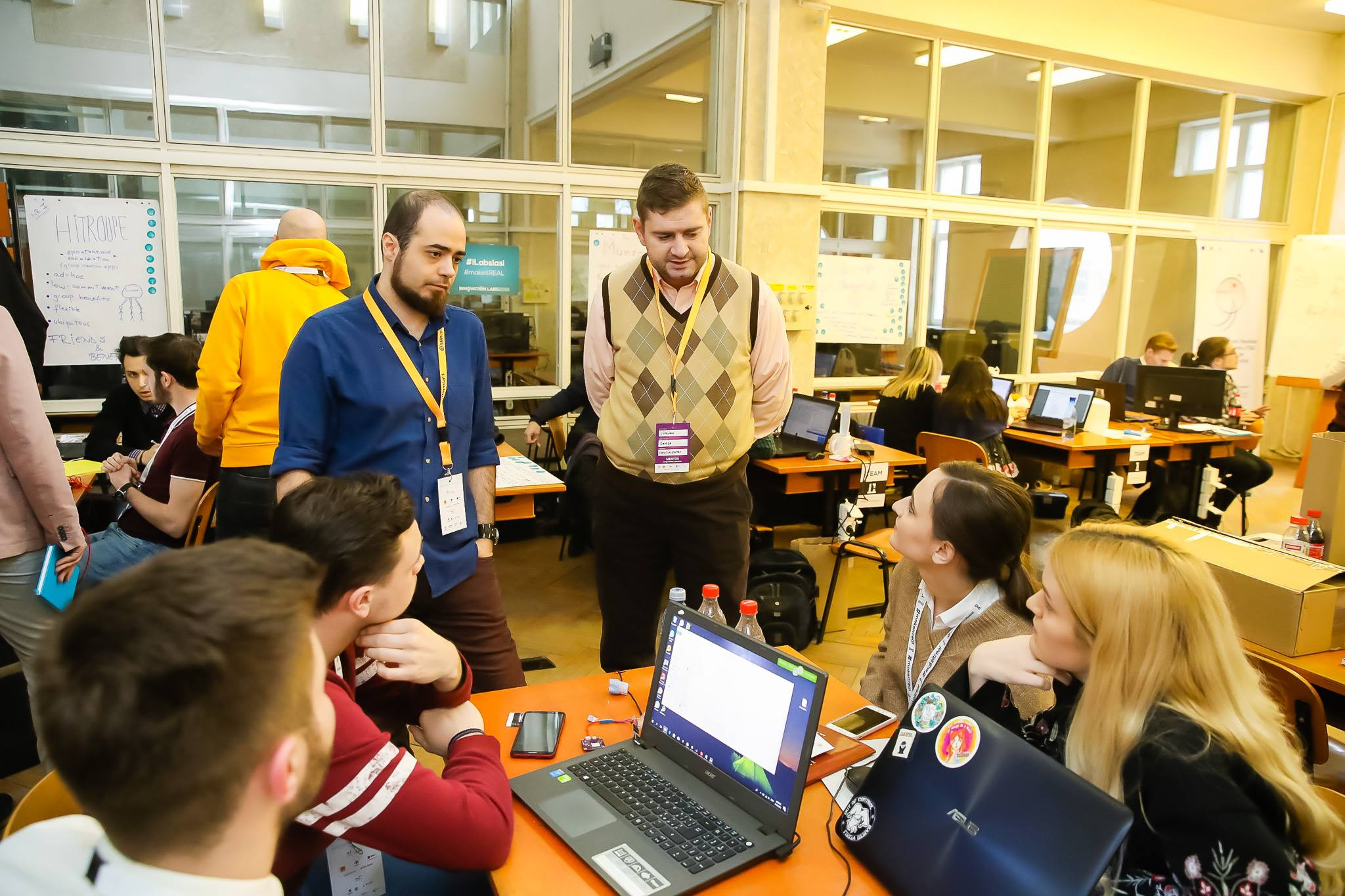 Innovation Labs 2018 Hackathon paul padurariu www.paulpadurariu.ro fotograf profesionist evenimente Iasi 49