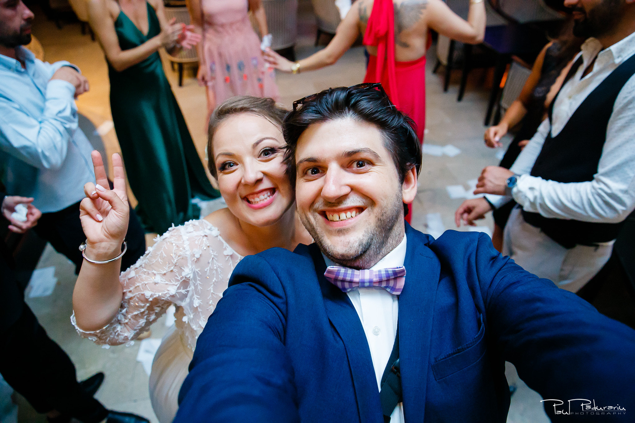 Selfie cu mireasa Ema - nunta Pleiada Iasi - fotograf profesionist Iasi www.paulpadurariu.ro © 2017 Paul Padurariu