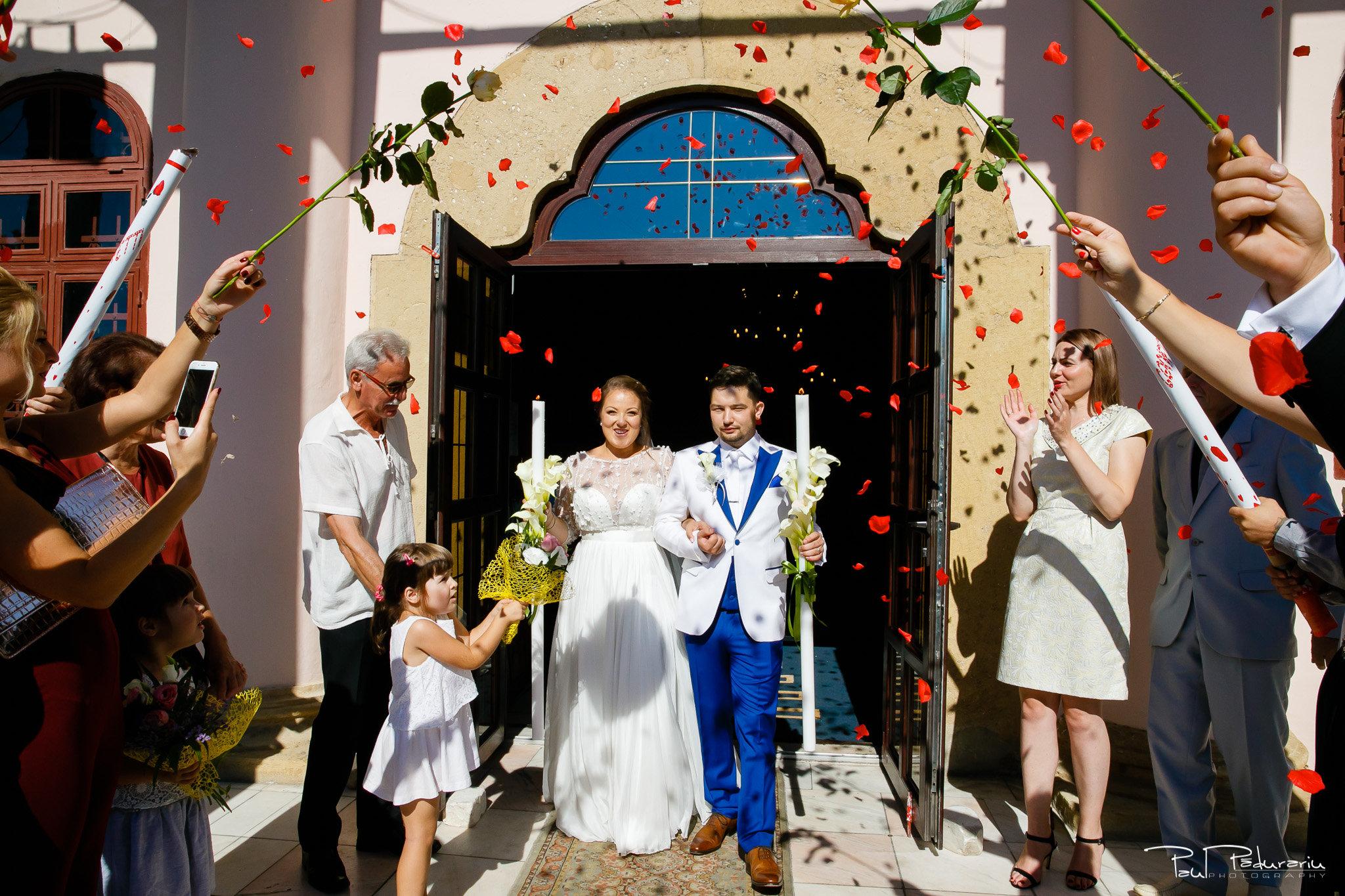 Cununia religioasa nunta Ema si Tudor fotograf de nunta iasi www.paulpadurariu.ro © 2017 Paul Padurariu iesirea din biserica