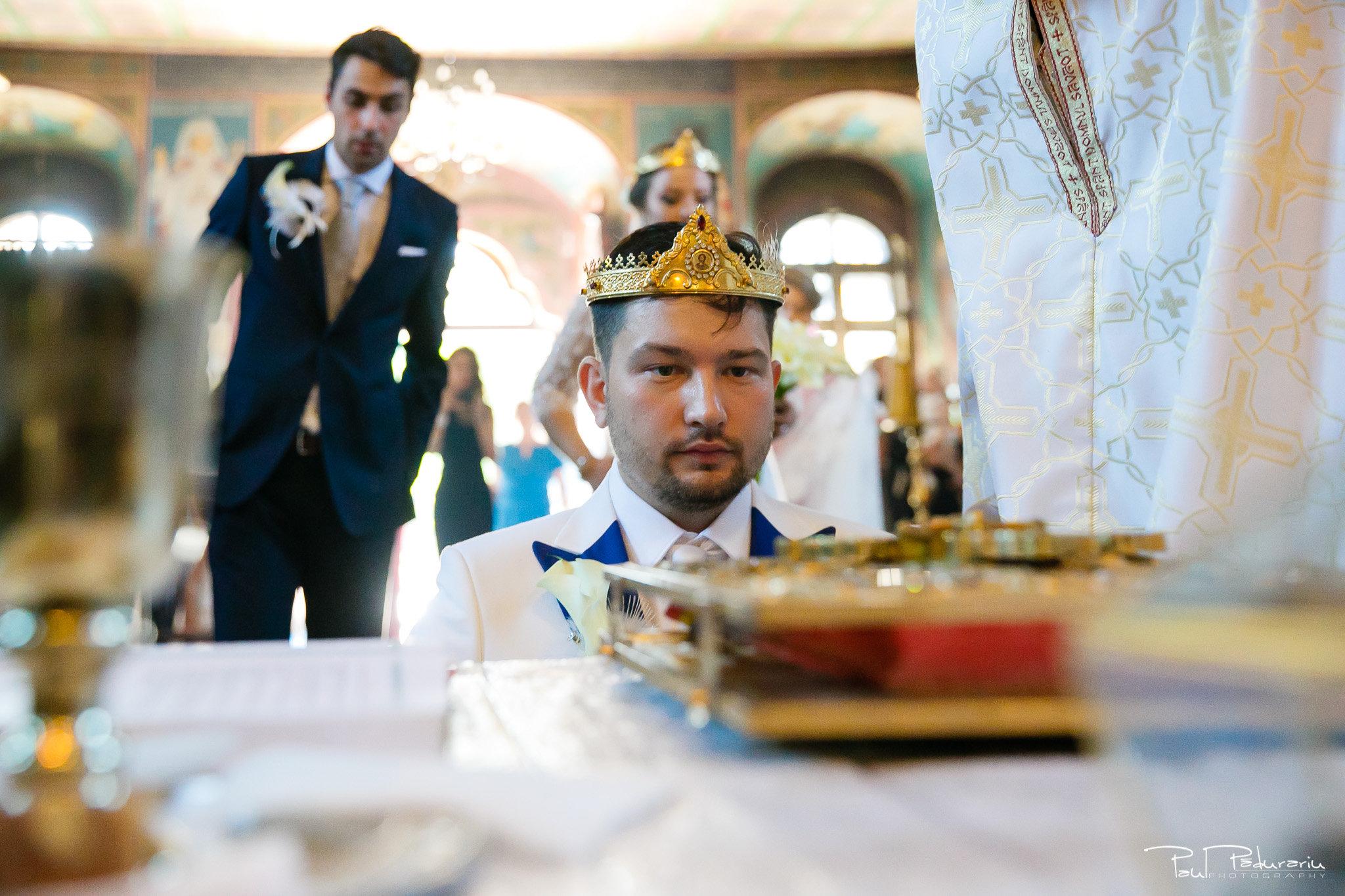 Cununia religioasa nunta Ema si Tudor fotograf de nunta iasi www.paulpadurariu.ro © 2017 Paul Padurariu punere cununii mire