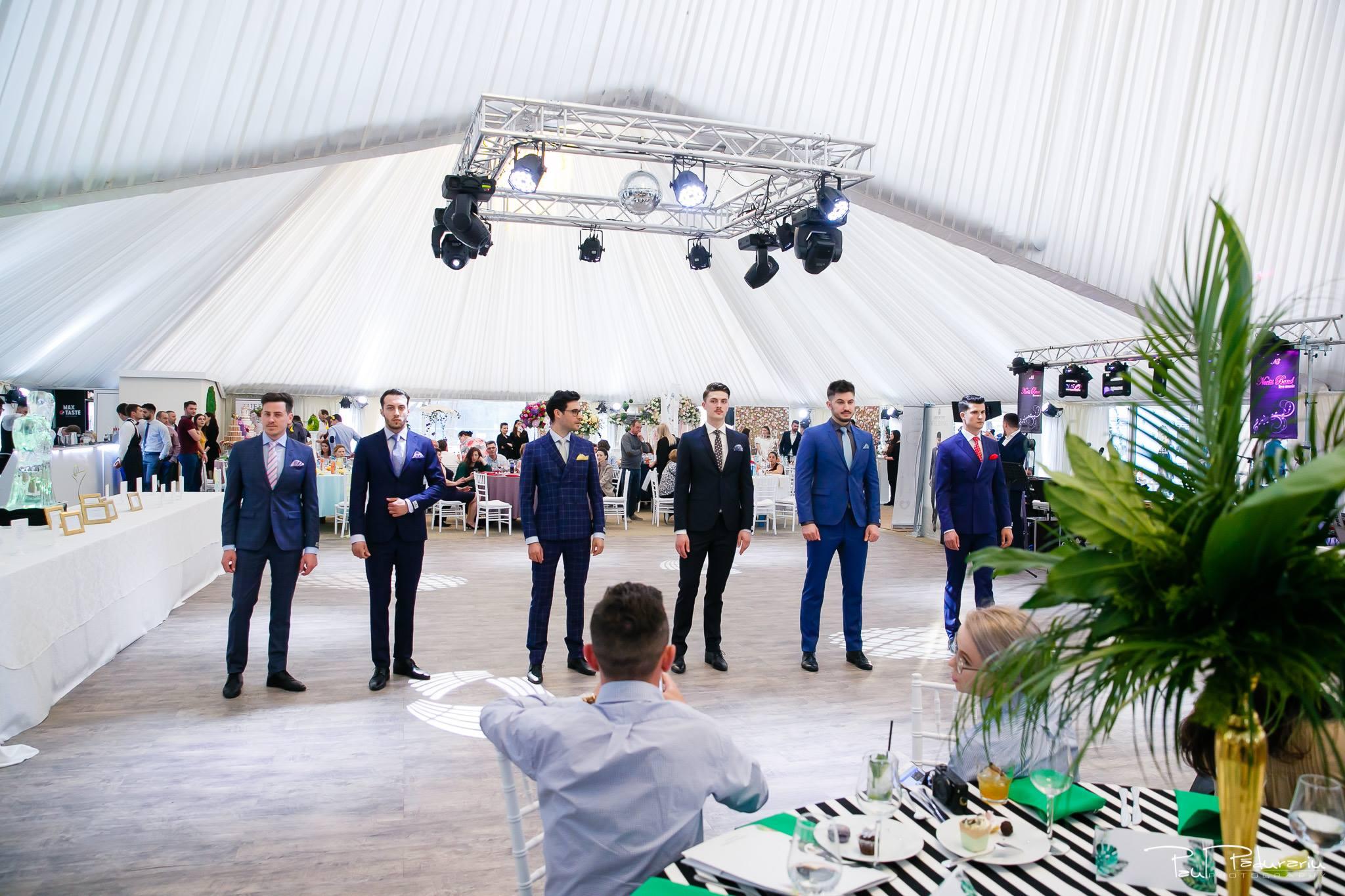 Prezentare costum mire elegant Seroussi Iasi Ceremony Summer 2018 la Elysium Events fotograf profesionist Paul Padurariu 1