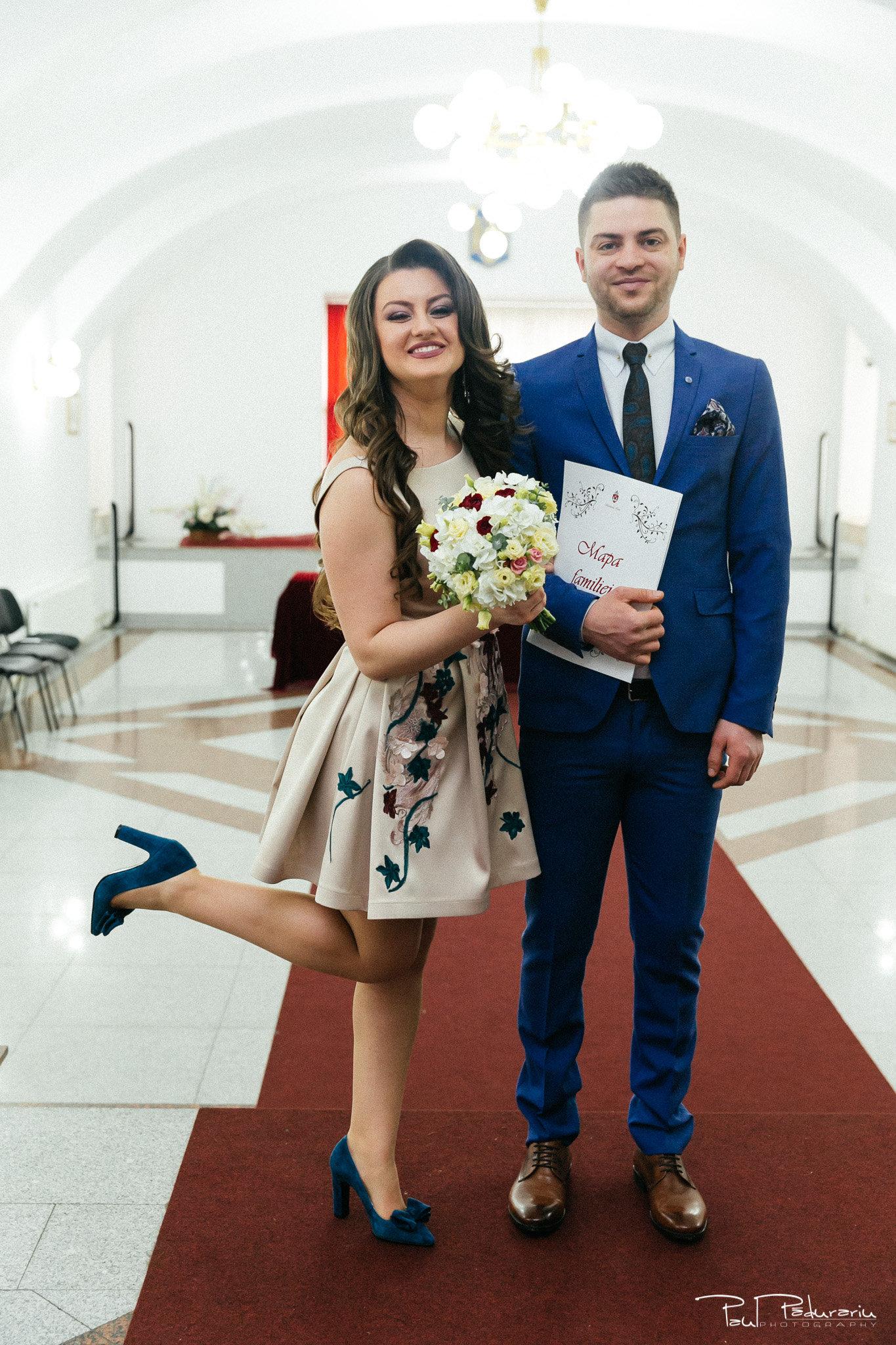Ariadna si Iulian cununie civila Iasi fotograf profesionist nunta Iasi www.paulpadurariu.ro © 2017 Paul Padurariu