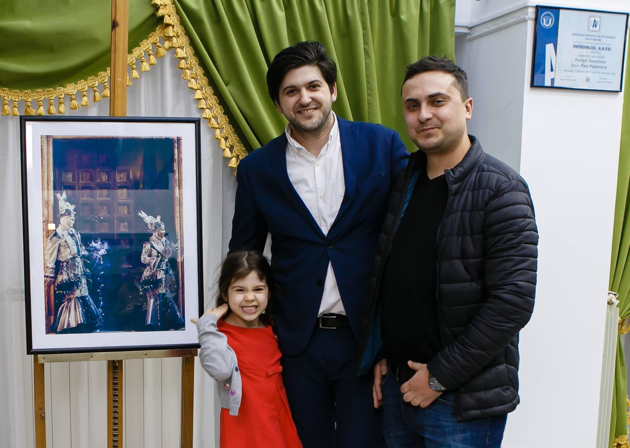 Vernisaj Expozitie de Fotografie Povesti Venetiene Paul Padurariu fotograf profesionist Iasi - fotografie invitat Razvan Oprea