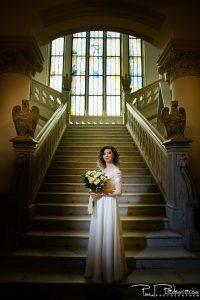 Sedinta foto nunta Palatul Culturii Iasi